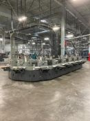 (16) HEIDELBERG BUCKET INSERTER WITH CONTROL PANEL AND KEYTRONIC LIFETIME SERIES CONTROL MODULE