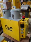 A-CUTWELD PRODUCTS FLUX RECOVERY & TRANSMITTING MACHINE; MODEL LTH560-100E (NEW)