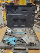 PORTA-MARK-HOT STAMPING TOOL; MODEL P-1, S/N 3241, POWER UNIT, INPUT/OUTPUT 1.1A, 115 VAC, H 10-V,