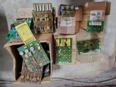 SKID OF NEW AND USED DC 600, NA3, NA5 CONTROL BOARDS