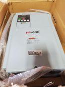 SUMITOMO ADJUSTABLE FREQUENCY DRIVE; HF-430, MODEL HF4304-022