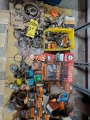 (3) SKID OF ASSORTED BEARINGS, SEALS, AND SPROCKETS