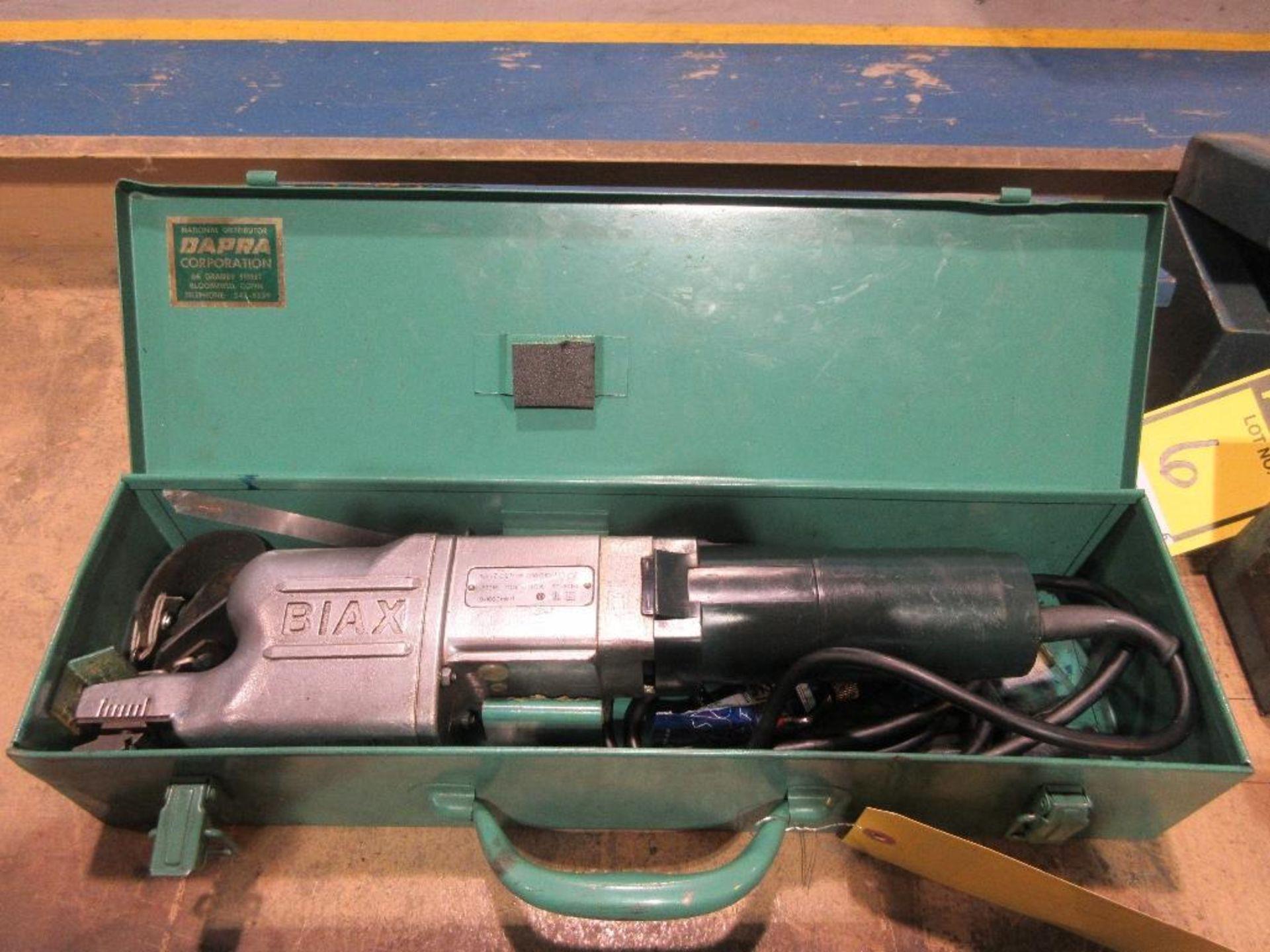 BIAX SCRAPER TYPE 7ELM, 110 V.