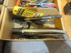 ASSORTED CHISELS, GASKET PUNCH