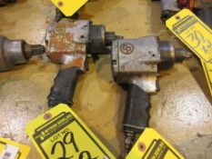 (2) CP 1/2 IN. PNEUMATIC IMPACT WRENCHES