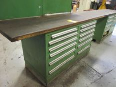 (2) VIDMAR CABINET W/ LATHE TOOLING: TOOL HOLDERS, COLLETS, DRILLS, ADAPTORS, TAPS, AND MORE