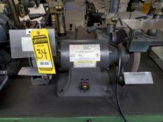 DAYTON 8'' BENCH GRINDER, 3/4-HP, 3450 RPM, 120/240V, 5/8'' ARBOR