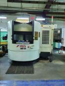 2012 FEELER VMP-800 APC CNC VERTICAL MILL, 4-AXIS, TWIN PALLET CHANGER, 30-STATION ATC, FANUC OI-