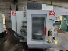2005 HAAS MDC-500 CNC VERTICAL MACHINING CENTER, DUAL PALLET CHANGER, TSC THROUGH SPINDLE COOLANT,