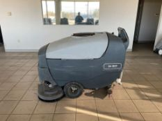ADVANCE WALK-BEHIND FLOOR SCRUBBER, MODEL: 34 RST, S/N: N4000010197, 36-VOLT, 30-GALLON CAPACITY
