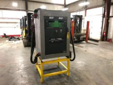 ENERSYS EXPRESS MULTI-VOLT INDUSTRIAL BATTERY CHARGER, MODEL TWINMAX 20, S/N TM20N001830, 20KW