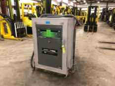 ENERSYS EXPRESS MULTI-VOLT INDUSTRIAL BATTERY CHARGER, MODEL TWINMAX 30, OUTPUT 12-80 VDC @ 25KW,