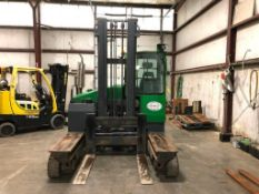 2010 COMBILIFT 10,000-LB. CAPACITY SIDE LOADING FORKLIFT, MODEL CL20100LA47, S/N 2093, LPG, WEIGHT