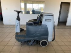 ADVANCE FLOOR SCRUBBER, MODEL: ES4000, S/N: N4000095933, 24-VOLT, WEIGHT: 1,447-LBS., 1,410 HOURS