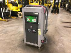 ENERSYS TWINMAX EXPRESS MULTI-VOLT INDUSTRIAL BATTERY CHARGER, MODEL TWINMAX 15, OUTPUT 12-80 VDC AT
