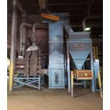 STATES ENGINEERING RINGMULLOR M-1500 METAL CAST SAND MULLER; RETURN SAND AND BUCKET, ELEVATOR, SPILL