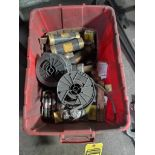 CONTAINER OF FUSES & WIRE