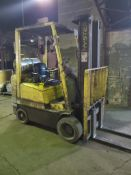 HYSTER 4,000 LB. CAPACITY FORKLIFT; MODEL S40XMS, S/N C010H03204T, 3-STAGE MAST, 189'' LIFT