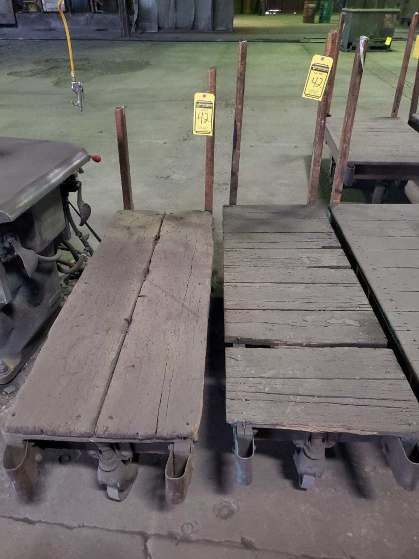 (2) RAIL CARTS