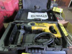 DEWALT D25213 3-MODE ROTARY HAMMER DRILL, 1'' CAP., 120 V., 8 AMP