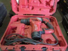 MILWAUKEE SDS PLUS ROTARY HAMMER DRILL, 1 1/8'' CAP., 120 V., 8 AMP