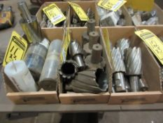 (3) BOXES OF CUTTERS, MOST 1 1/4'' SHANK