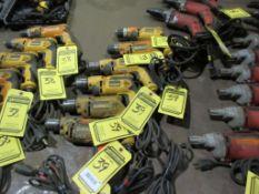 (6) DEWALT 3/8'' VSR DRILLS, 120 V.