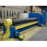 1975 BERTSCH MODEL 11 INITIAL PINCH PLATE BENDING ROLL SERIAL NUMBER M-10279 12' X 5/8 RATED