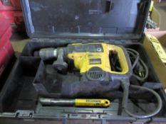 DEWALT D25553 1 9/16'' SPLINE ROTARY HAMMER DRILL, 120 V., 12 AMP