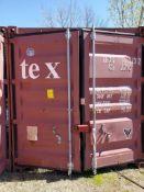 CONEX BOX 8' X 20'