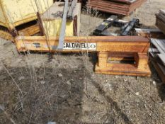 CALDWELL 7,000-LB. FORKLIFT BOOM, 6' RETRACTED, 12' EXTENDED