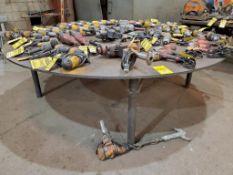 9' DIAMETER WELDING TABLE 1/2'' PLATE 33'' HIGH