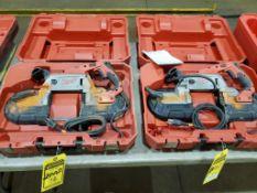 (2) MILWAUKEE DEEP CUT BAND SAWS, MODEL 6232-20 & 6238-20, 110 V.
