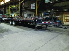 PJ 28' T/A FLATBED DUAL AXLE TRAILER