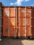CONEX BOX 8' 6'' X 40''