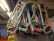 LARGE LOT OF HACK SAWS