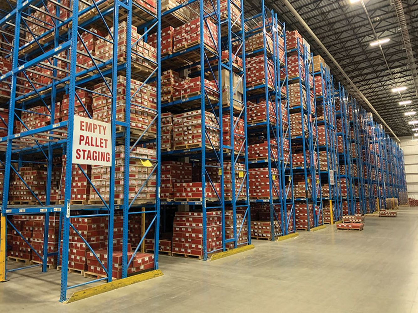 1,000,000+ SF DISTRIBUTION CENTER - DAY 1 of Huge 2-Day Auction - Pallet Racking, Forklifts, Pick Modules, Shuttle Systems
