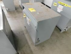SQUARE D 3-PH INSULATED TRANSFORMER, CAT# 75T3H, HV 480, LV 208Y/120, STYLE# 34349-17212-064, 75