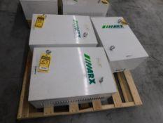 (3) MARX 55 KVA TRANSFORMERS, 3-PH, 3X440/460/480 PRIMARY VOLTS, 3X400 SECONDARY VOLTS