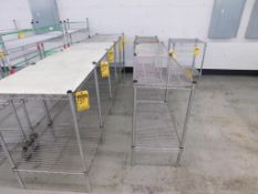 (9) ASSORTED SIZE METRO TABLES
