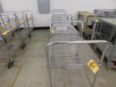 (17) ASSORTED SIZE METRO CARTS