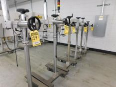 (6) ICG LABELERS, TYPE ALS330R, 240/220/110 V.