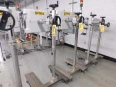 (5) ICG LABELERS, TYPE ALS330R, 240/220/110 V.