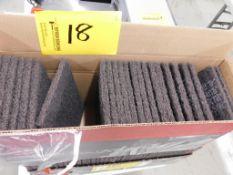 (2) BOXES OF SCOTCH BRITE ABRASIVE PADS