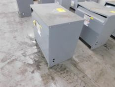 SQUARE D 3-PH INSULATED TRANSFORMER, CAT# 753TH, HV 480, LV 208Y/120, STYLE# 34349-17212-064, 75