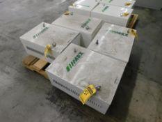 (4) MARX 55 KVA TRANSFORMERS, 3-PH, 3X440/460/480 PRIMARY VOLTS, 3X400 SECONDARY VOLTS