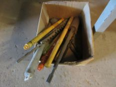 BOX OF ROTARY HAMMER DRILL BITS