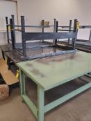 (5) METAL TABLES ***LOCATED AT 12850 DARICE PARKWAY, STRONGSVILLE, OH***