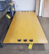 CRAFT TABLE; 4' X 8' ***LOCATED AT 12850 DARICE PARKWAY, STRONGSVILLE, OH***