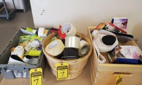 LOT OF ASSORTED TAPE & GLUE DOTS ***LOCATED AT 12850 DARICE PARKWAY, STRONGSVILLE, OH***